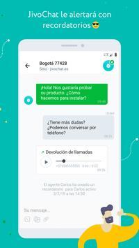 JivoChat captura de pantalla 1
