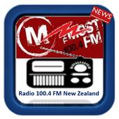 radio most fm 100.4 fm new zealand icon