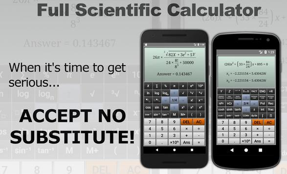 Full Scientific Calculator Ekran Görüntüsü 6