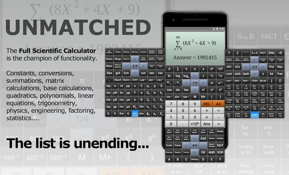 Full Scientific Calculator Ekran Görüntüsü 8