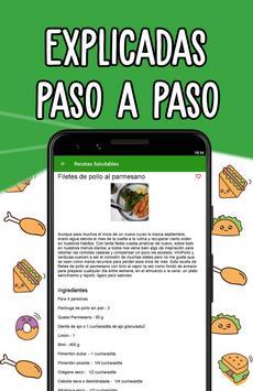 🍓 Recetas Saludables - Comida Fácil y Sana screenshot 5