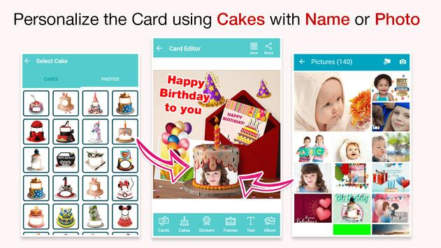 Birthday Cards Wishes With Name And Photo On Eid Screenshot 14