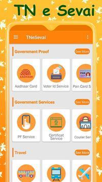 TN e-Sevai : Tamilnadu e Services poster