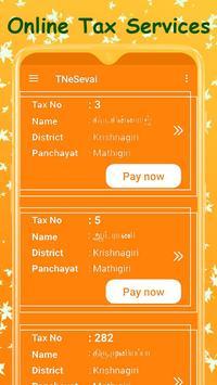 TN e-Sevai : Tamilnadu e Services screenshot 6