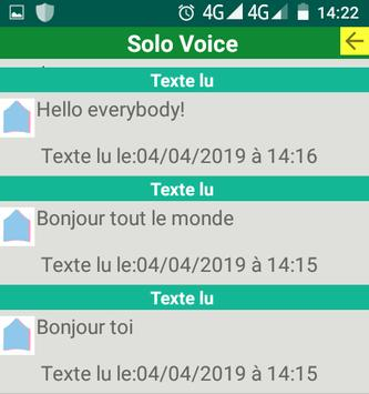 SoloXvoice screenshot 2