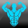 Spor Salonu Fitness ve Egzersiz: Kişisel antrenör simgesi