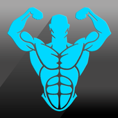 Gym Fitness & Workout : Personal trainer icon