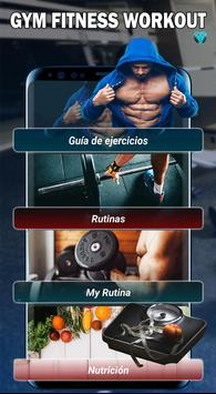 Gym Fitness & Workout : Entrenador Personal Poster
