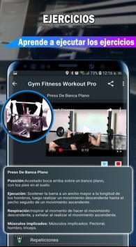 Gym Fitness & Workout : Entrenador Personal captura de pantalla 13