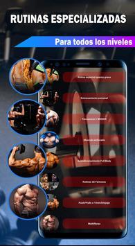 Gym Fitness & Workout : Entrenador Personal captura de pantalla 18