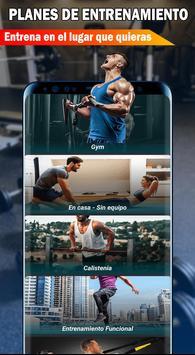 Gym Fitness & Workout : Entrenador Personal captura de pantalla 1