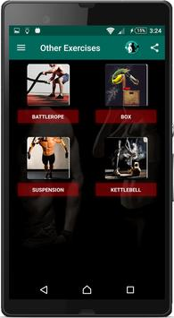 Home Workouts : Personal Trainer Fitness screenshot 3