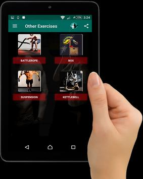 Home Workouts : Personal Trainer Fitness screenshot 11