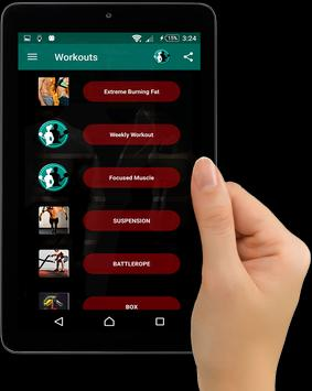 Home Workouts : Personal Trainer Fitness screenshot 18