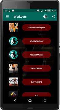 Home Workouts : Personal Trainer Fitness screenshot 2