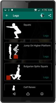 Home Workouts : Personal Trainer Fitness screenshot 6