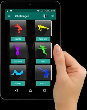 Home Workouts : Personal Trainer Fitness screenshot 9