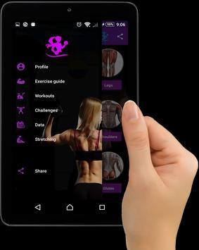 Gym Fitness & Workout Women : Personal trainer screenshot 8