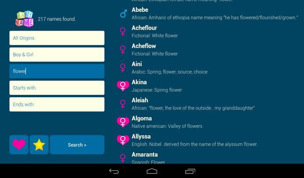 Baby Name - Simple! screenshot 17