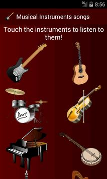 Instrument songs poster