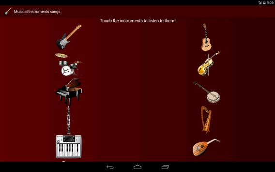 Instrument songs screenshot 3