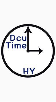 DCU time poster