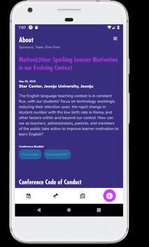 KOTESOL 2019 National Conference screenshot 7
