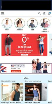 Jockey Online Shopping Store India screenshot 1