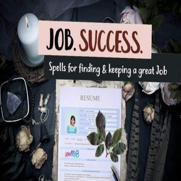Candle spells for employment poster