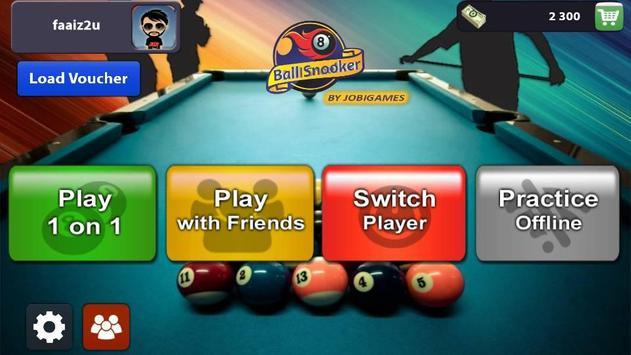 8 Ball Snooker poster