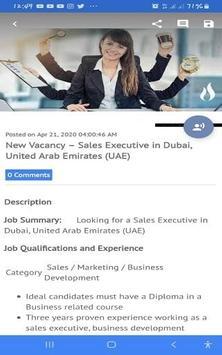 Jobs in Dubai and Canada screenshot 3