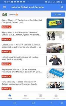 Jobs in Dubai and Canada screenshot 1
