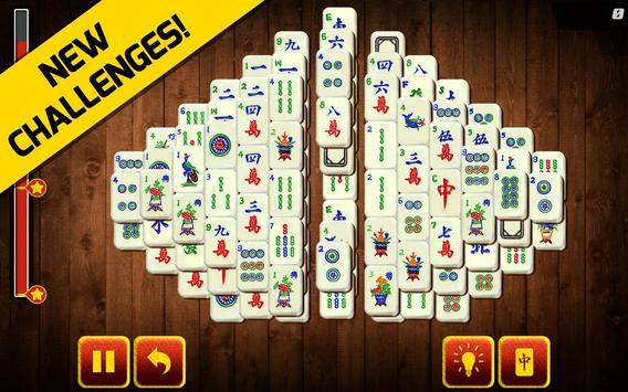 Mahjong Shanghai Jogatina 2: Solitaire Board Game screenshot 1