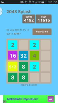 2048 Splash screenshot 1