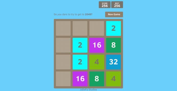 2048 Splash screenshot 2