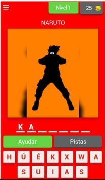 Adivina El Personaje De Anime screenshot 4