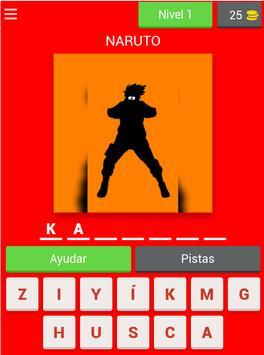 Adivina El Personaje De Anime screenshot 13