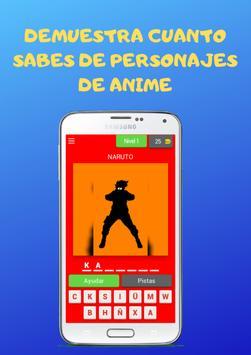 Adivina El Personaje De Anime screenshot 1