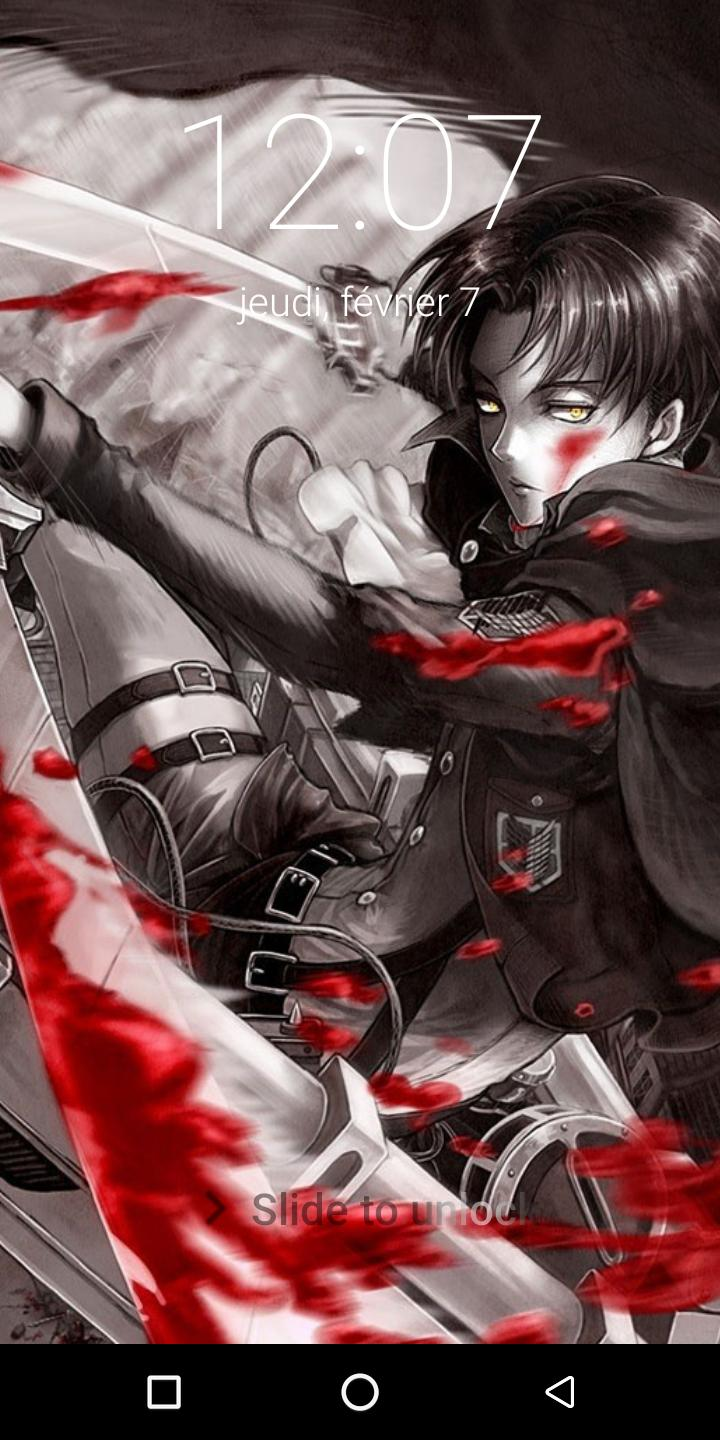 New Levi Ackerman Lock Screen For Android Apk Download