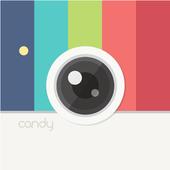 Candy Camera أيقونة