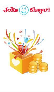 Share joke and shayari and earn money poster