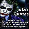 Joker Quotes Zeichen