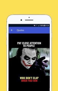 Joker Quotes screenshot 1