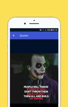 Joker Quotes screenshot 2