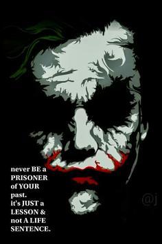 Joker Quotes Motivational poster