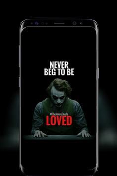 Joker Quotes Motivational screenshot 3