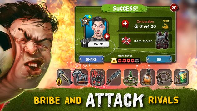 Football Manager Underworld - Bribe, Attack, Steal स्क्रीनशॉट 12
