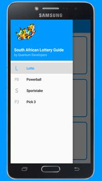 South African Lottery Guide (Results & Numbers) poster