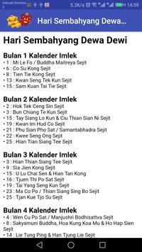 Kalender Sembahyang Indonesia Gratis screenshot 13