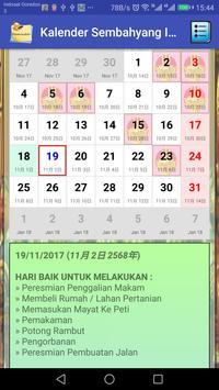 Kalender Sembahyang Indonesia Gratis screenshot 9